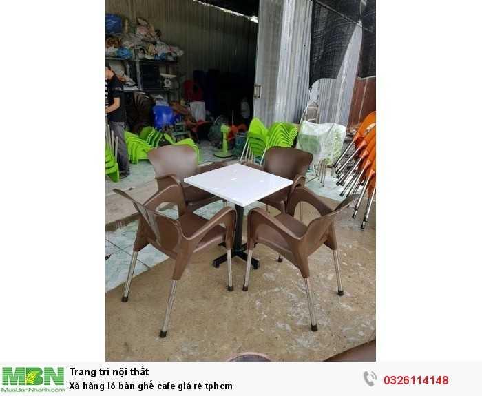 Xã hàng lô bàn ghế cafe giá rẻ tphcm1