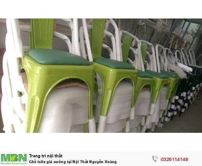 Ghế tolix giá xưởng tại Nội Thất Nguyễn Hoàng2
