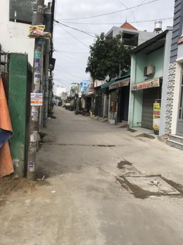 Nhà đường liên khu  4 5 hẻm xe hơi