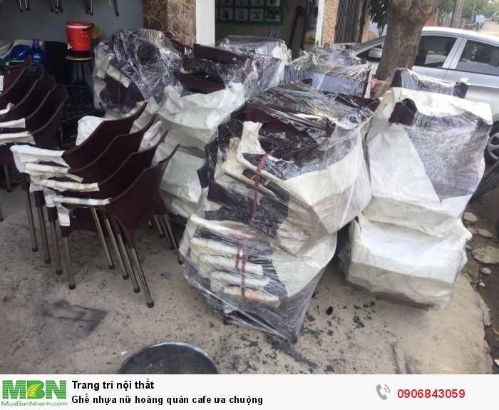 Ghế nhựa nữ hoàng quán cafe ưa chuộng0
