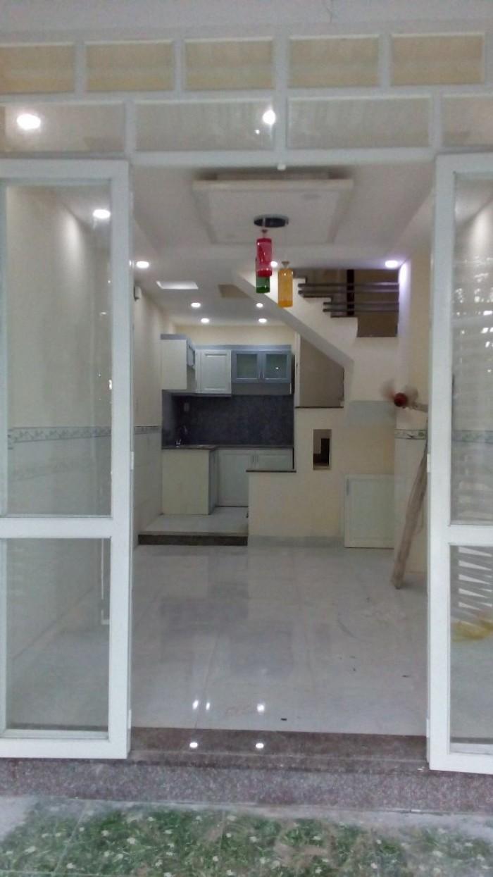 Bán nhà HXH Phú Nhuận, 4 tầng ,45m2, khu đô thị.