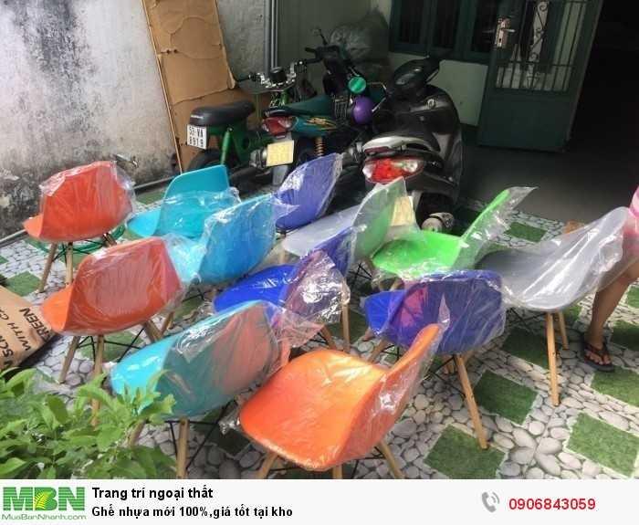 Ghế nhựa mới 100%,giá tốt tại kho0
