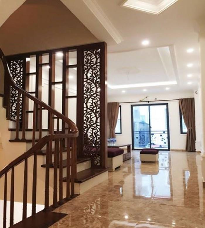 Nhà mới xây 5T gác lửng phòng khách - 37m2 cách đường ô tô tránh 10m - Bà Triệu - Hà Trì 1.