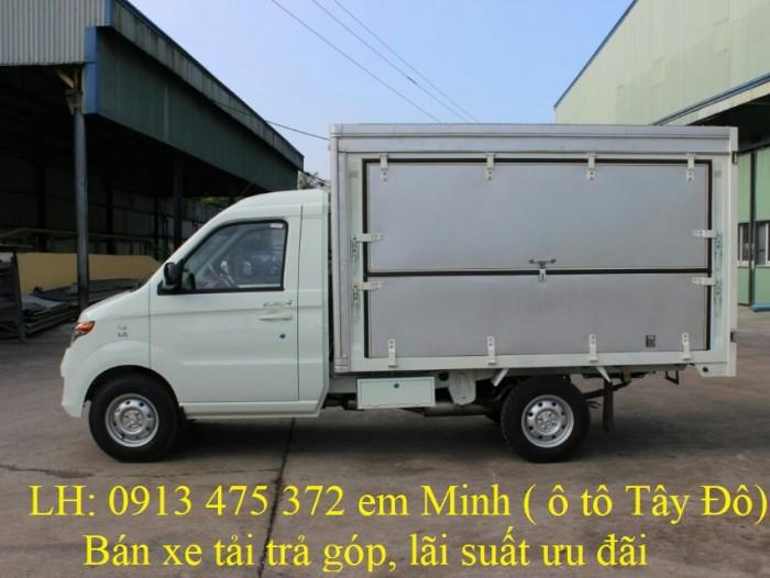 Xe tải KENBO thùng cánh dơi 900kg