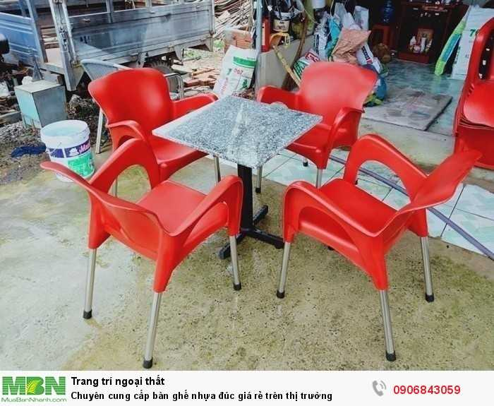 Chuyên cung cấp bàn ghế nhựa đúc giá rẻ trên thị trường0
