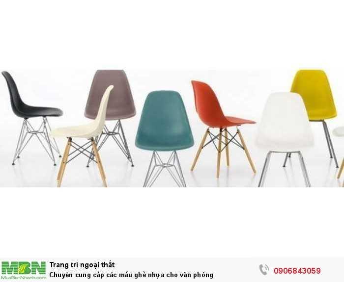 Chuyên cung cấp các mẫu ghế nhựa cho văn phòng0