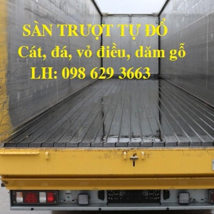 Sàn Trượt Tự Đổ/ Sàn Trượt Gắn Container