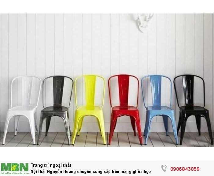 Nội thất Nguyễn Hoàng chuyên cung cấp bên mảng ghế nhựa0