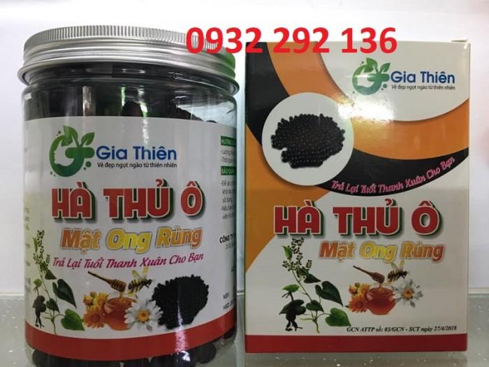 Viên uống Hà Thủ ô Mật ong giúp đen tóc, đẹp da, liên hệ 0932 292 136 để được tư vấn và giao hàng toàn quốc