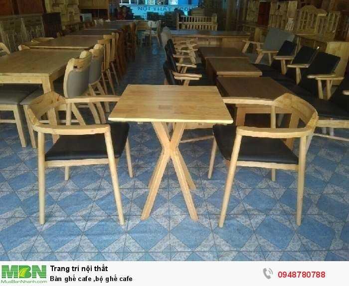 Bàn ghế cafe ,bộ ghế cafe1
