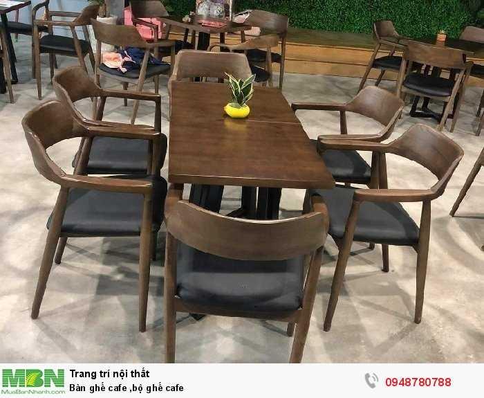Bàn ghế cafe ,bộ ghế cafe2