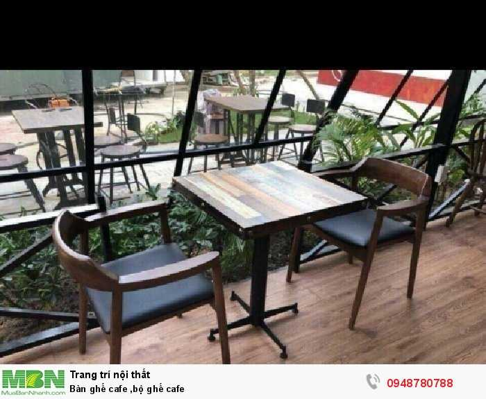 Bàn ghế cafe ,bộ ghế cafe4