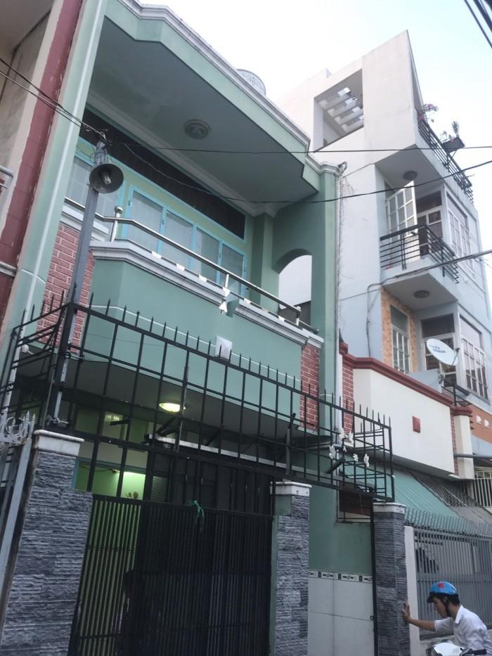 Cho thuê nhà nguyên căn hẻm xe hơi 861 Trần Xuân Soạn, phường Tân Hưng. Giá: 9 triệu/tháng