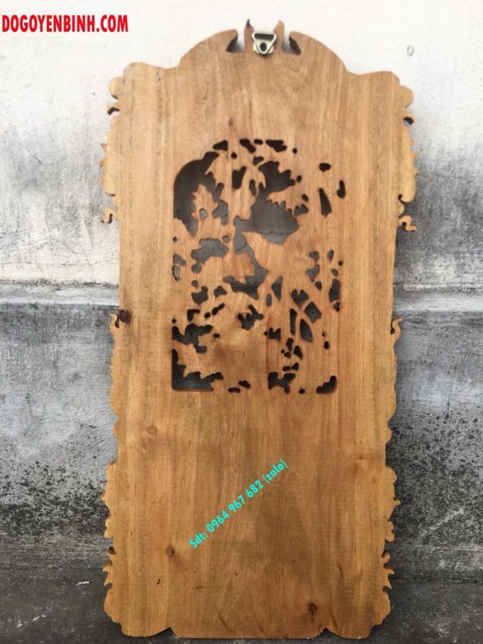 Lốc lịch trúc mai gỗ gụ nguyên khối7