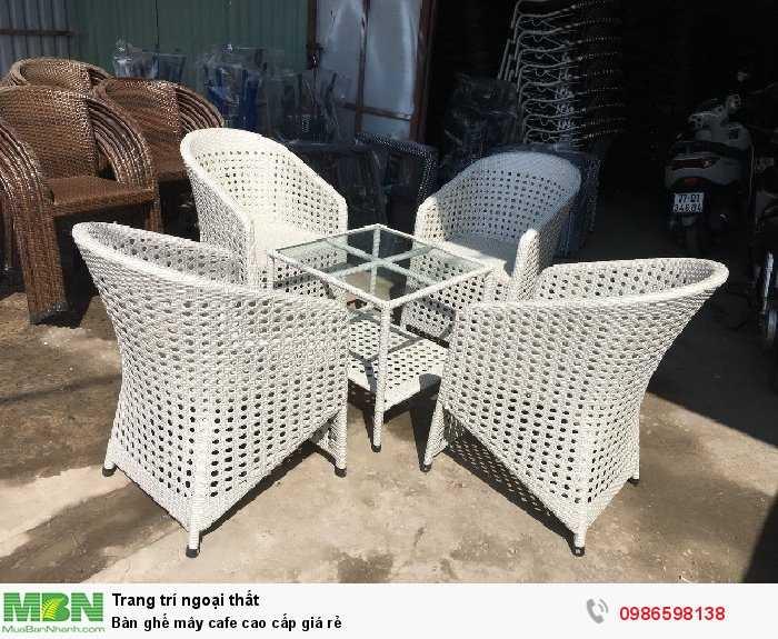 Bàn ghế mây cafe cao cấp giá rẻ1
