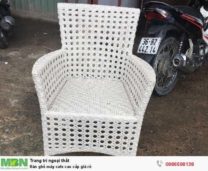Bàn ghế mây cafe cao cấp giá rẻ3