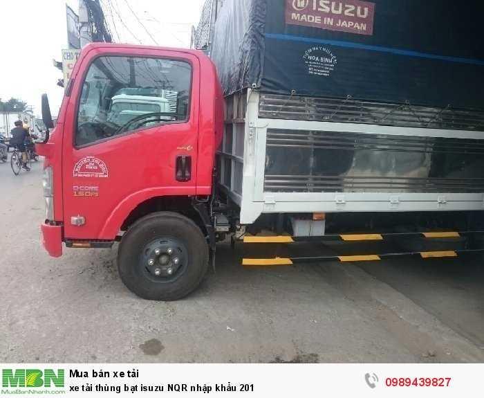 Xe tải thùng bạt isuzu NQR nhập khẩu 201