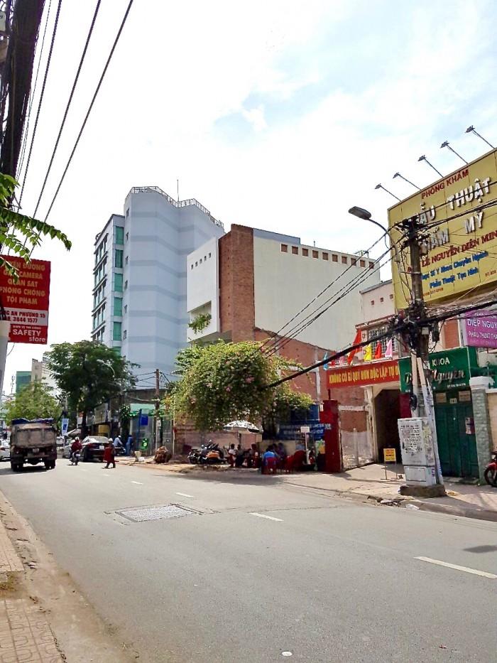 Đất vàng: Khu đất lô góc 2 mặt tiền Trần Huy Liệu, Phú Nhuận.
