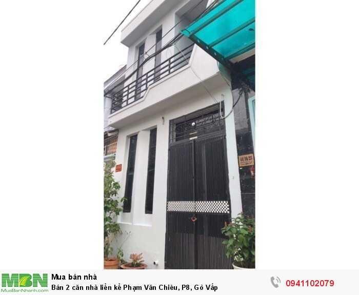 Bán 2 căn nhà liền kề Phạm Văn Chiêu, P8, Gò Vấp