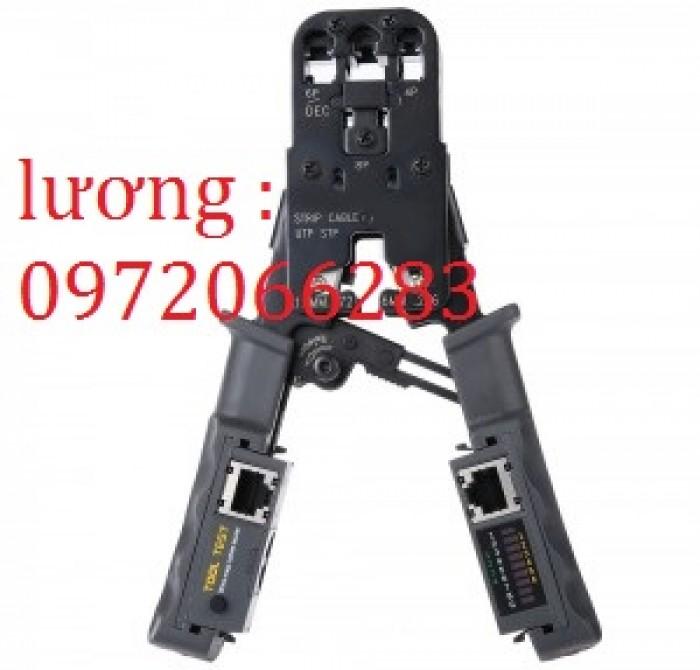 Kìm mạng HT-022 tích hợp bấm và test rj11 12 454