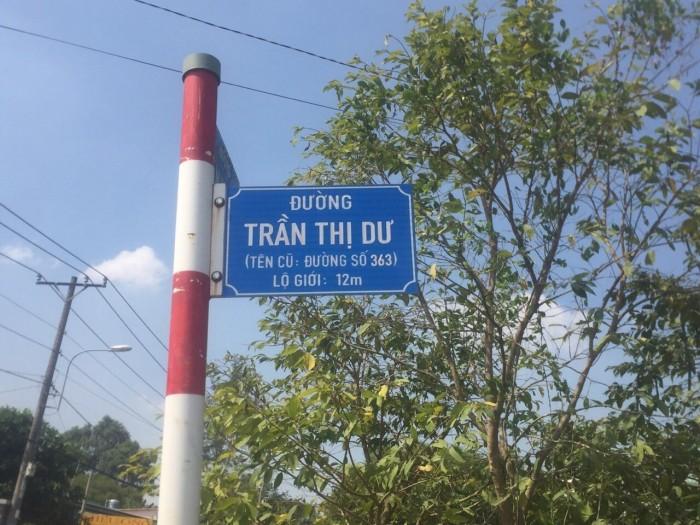 Cần Bán Lô Đất MT Trần Thị Dư, Ngay Trường Nguyễn Văn Lịch, Củ Chi, SR