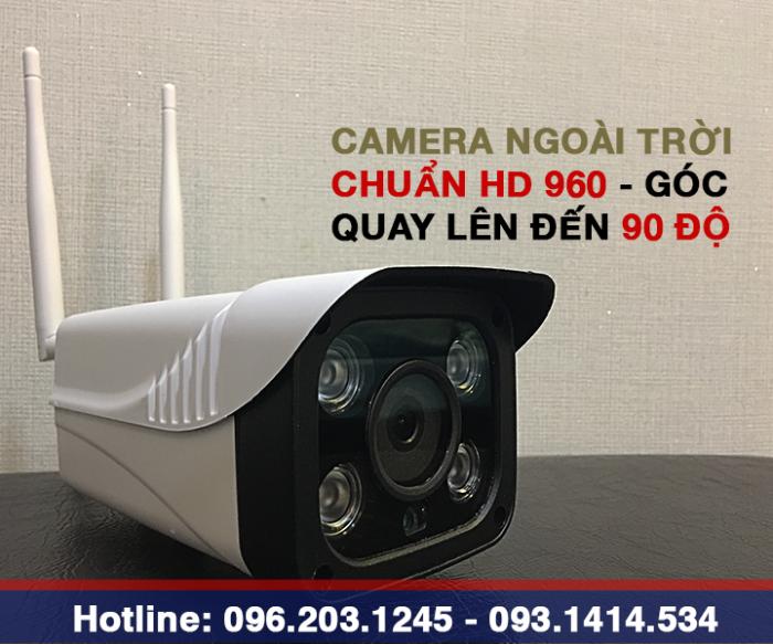 Camera ngoài trời chống trộm Hỗ trợ lắp đặt và tư vấn miễn phí