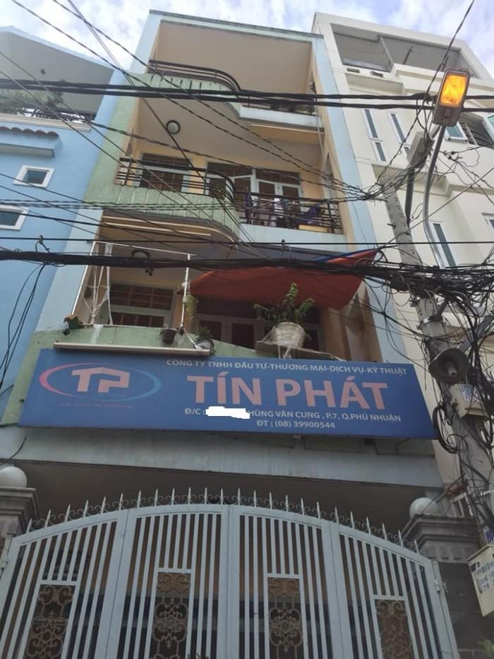 Nhà Phú Nhuận, DT 51m x 4 Tấm, HXH 5m, sổ phân lô