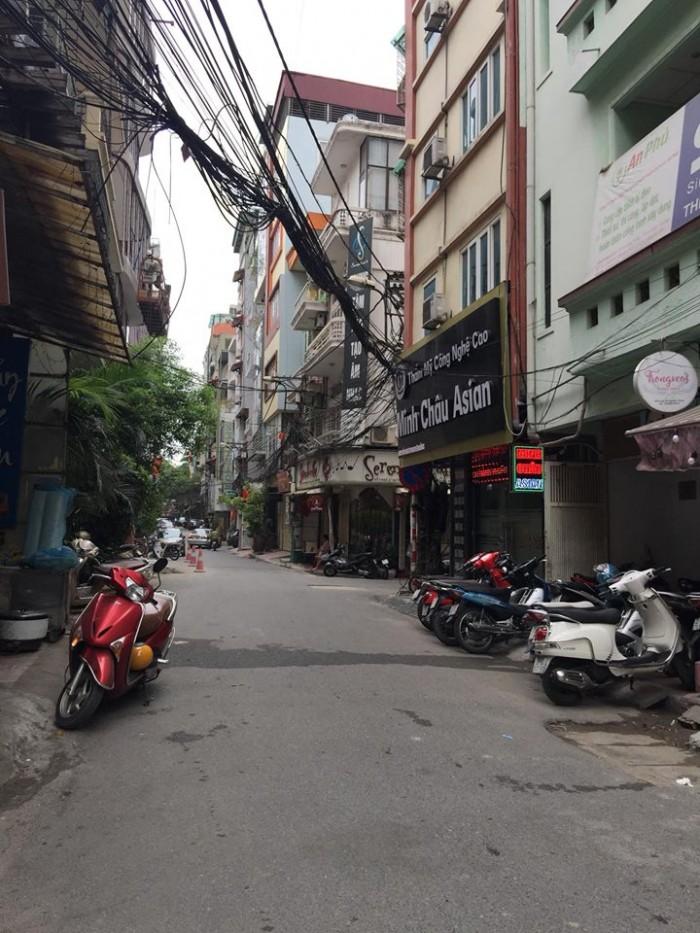Bán nhà ngõ 121 Thái Hà 60m2* 5 tầng Ô tô Kdoanh