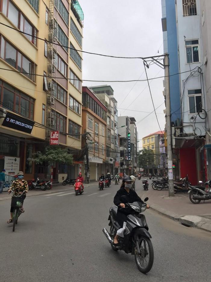Bán tòa nhà 6 tầng ngõ 10 Tôn Thất Tùng Cho thuê Văn Phòng