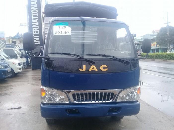 Mua xe tải jac 2.5 tấn máy isuzu chính hãng xe tải jac vào thành phố 5