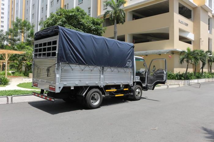 Mua xe tải jac 2.5 tấn máy isuzu chính hãng xe tải jac vào thành phố 3