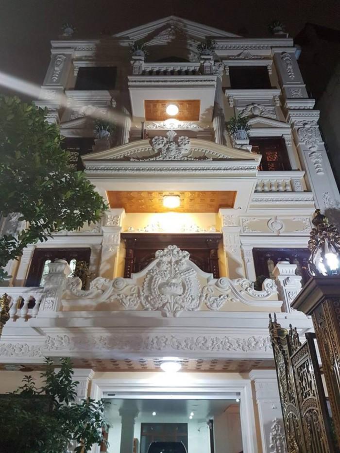 Bán gấp Biệt thự đẳng cấp phố Nguyễn Sơn 400m2, 6 tầng, mt 14m
