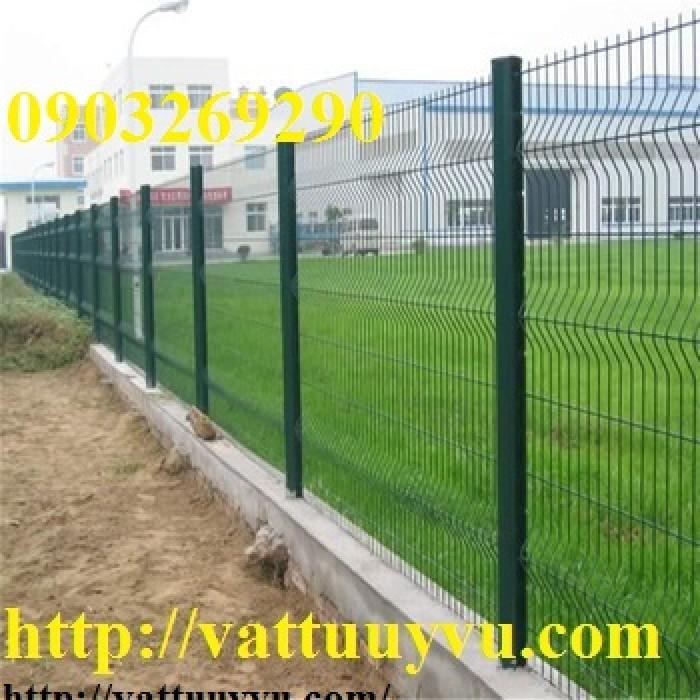 Hàng rào lưới thép phi 5 ( 50 x100), ( 50x150), ( 50 x200), ( 50 x250) , mạ kẽm nhúng nóng , sơn tĩnh điện