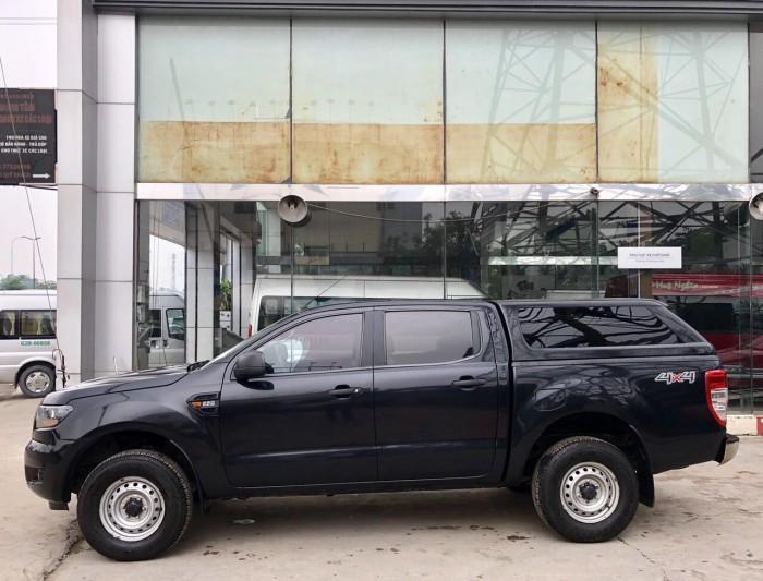 Ranger XL, 2015 mẫu mới, 2 cầu điện, số sàn, xe công ty, màu đen,