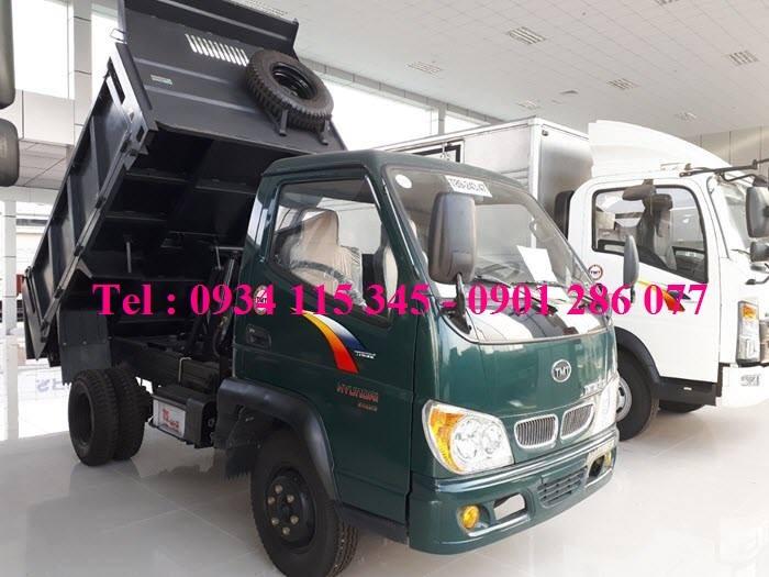 Xe Ben 2T4 -2.4 tấn -2 tấn 4 - 2.4T TMT   Máy Hyundai   Công Ty Ô Tô Tây ĐÔ 8
