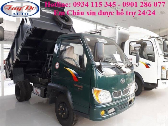 Xe Ben 2T4 -2.4 tấn -2 tấn 4 - 2.4T TMT   Máy Hyundai   Công Ty Ô Tô Tây ĐÔ 7