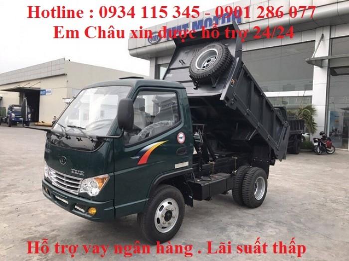 Xe Ben 2T4 -2.4 tấn -2 tấn 4 - 2.4T TMT   Máy Hyundai   Công Ty Ô Tô Tây ĐÔ 5