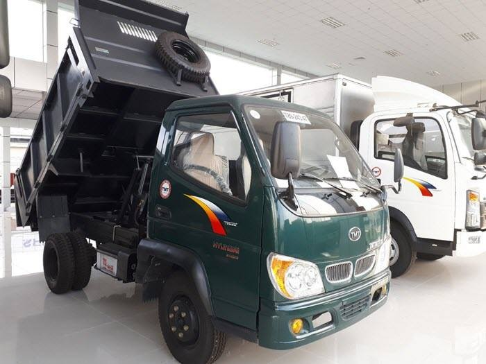 Xe Ben 2T4 -2.4 tấn -2 tấn 4 - 2.4T TMT   Máy Hyundai   Công Ty Ô Tô Tây ĐÔ 4