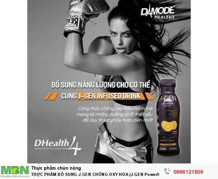 Thực Phẩm Bổ Sung J-Gen Chống Oxy Hóa (J-Gen Powerful Antioxidant Powder Drink – Chai 330Ml)0