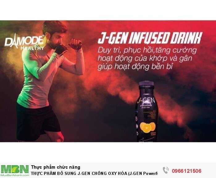 Thực Phẩm Bổ Sung J-Gen Chống Oxy Hóa (J-Gen Powerful Antioxidant Powder Drink – Chai 330Ml)3