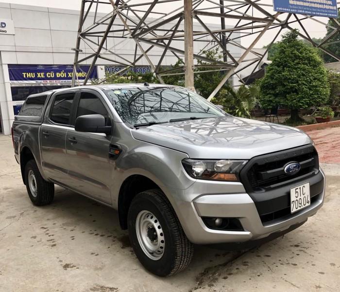 Bán Ford Ranger 4x4MT sx 2015 màu bạc 3