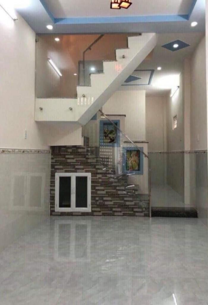 Bán nhà mặt tiền 1 trệt 2 lầu đường số 6, Bình Hưng Hoà B, Bình Tân