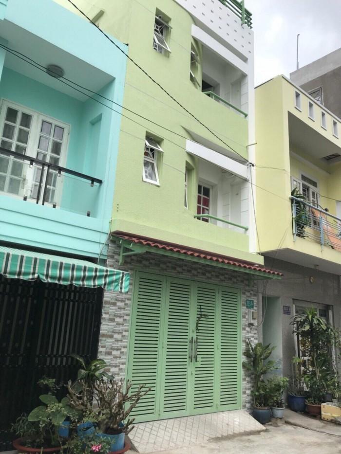 Bán nhà đường 6M Dương Văn Dương, 4x12m, 4 tấm - Q.Tân Phú
