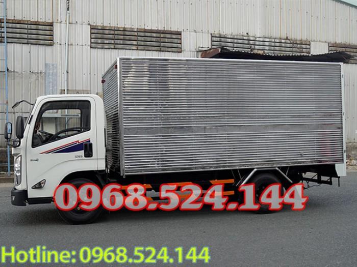 Xe tải iz65 đô thành động cơ isuzu NHẬP nguyên cục, thùng kín 1T9 - 3T5, 60tr nhận xe