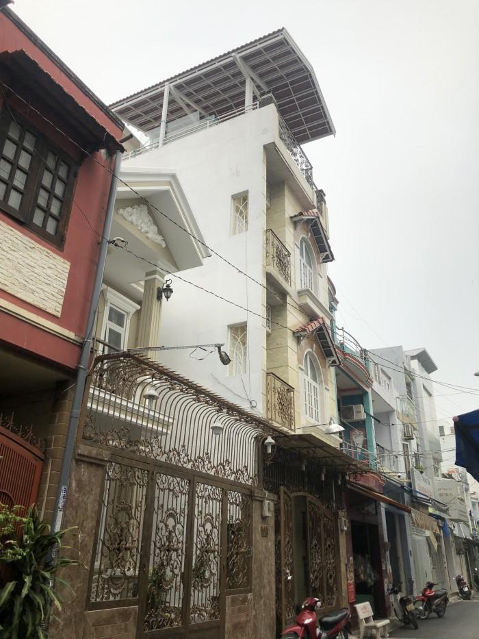 Bán nhà riêng  đường Gò Dầu ,4 tấm ,hẻm 6m,4.5x10.5m,đủ lộ giới nhà đẹp vào liền.