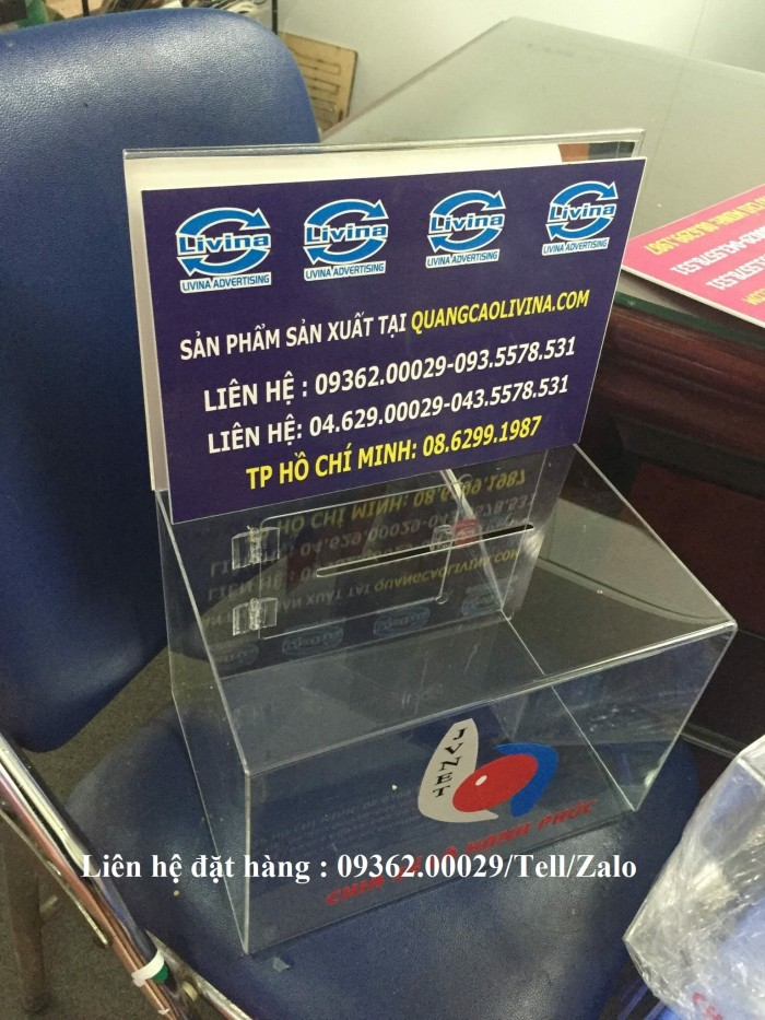 Nhận cung cấp hộp tip-box , hộp tip tiền10