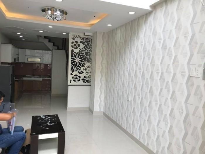 Bán nhà mới Thích Quảng Đức quận Phú Nhuận đúc thật 40m2 hẻm xe hơi.
