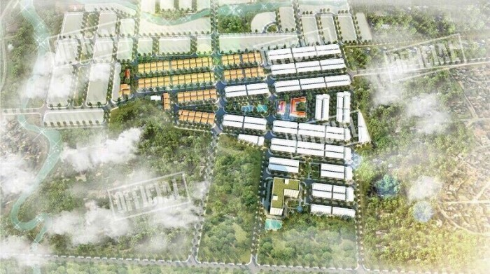 nhà phố xây sẵn 1 trệt 2 lầu trong KDL Thác Giang Điền-Đồng Nai