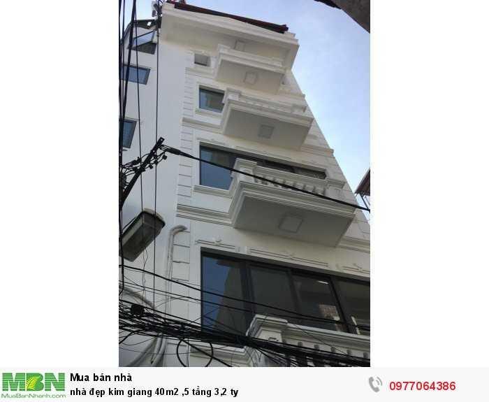 Nhà đẹp Kim Giang 40m2 ,5 tầng