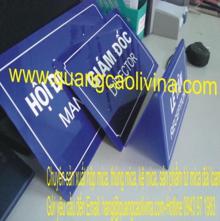 Biển phòng ban, biển công ty nhiều loại chất liệu và giá rẻ trên toàn quốc9